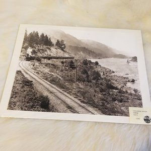 Photo Columbia River Gorge 1915 By Alex Blendl